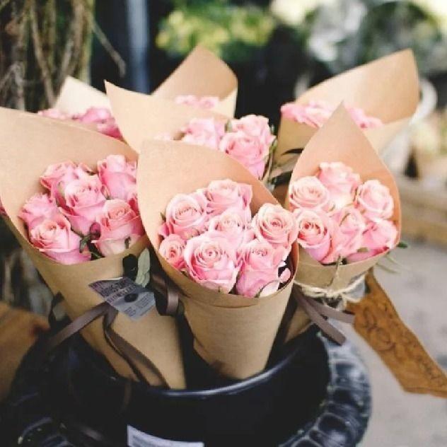 Букет 7 нежных роз
